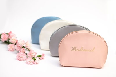 SATIN COSMETIC BAGS COLLECTION
