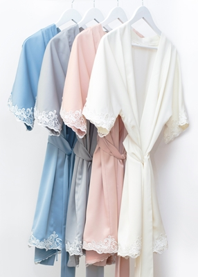 LACE TRIM ROBE COLLECTION