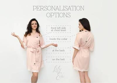 personalisation options
